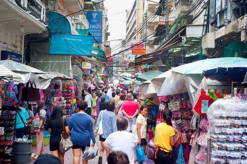 Flee market, Bangkok